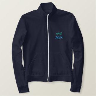 波のライダーのジャケット 刺繍入りジャケット