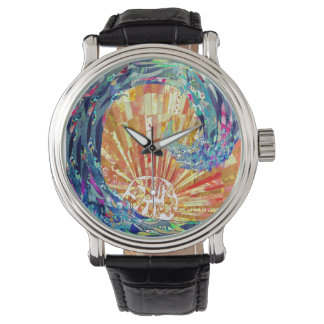波の上りの腕時計 腕時計