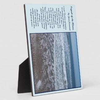 波の伝説-シダのサバンナ; 青いプラク2 フォトプラーク