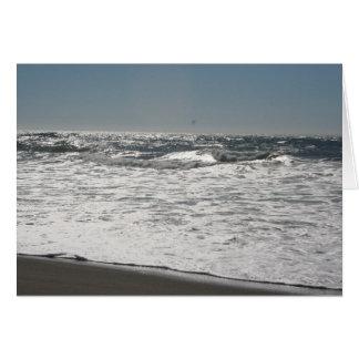 波の作成 カード