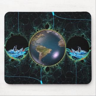 波の惑星のマウスパッド マウスパッド