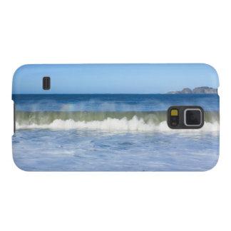波の電話箱の虹 GALAXY S5 ケース