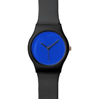 波の青い中型の明るい海2015色の傾向 腕時計