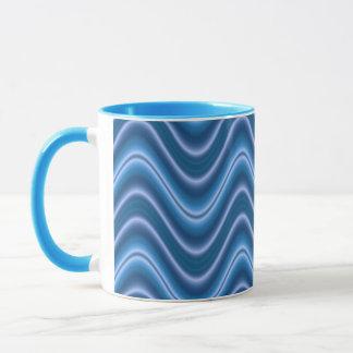 波の青 マグカップ