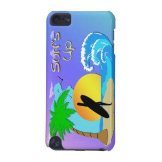 波の-サーファーの女の子の堅い貝のSpeckの場合 iPod Touch 5G ケース