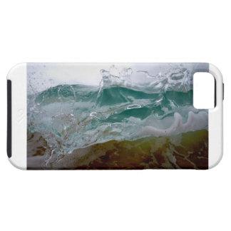 波のIphoneカラフルな5/5sの箱 iPhone SE/5/5s ケース