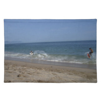 波のSkimboarders ランチョンマット
