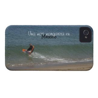 波をすくい取ること; メキシコの記念品 Case-Mate iPhone 4 ケース