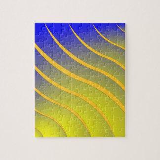 波を縞で飾ります ジグソーパズル