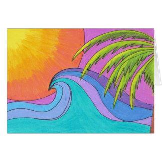 波を造ること カード