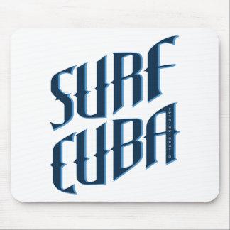 波キューバ マウスパッド