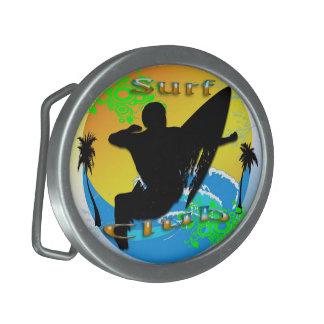 波クラブ-サーファーの楕円形のベルトの留め金 卵形バックル