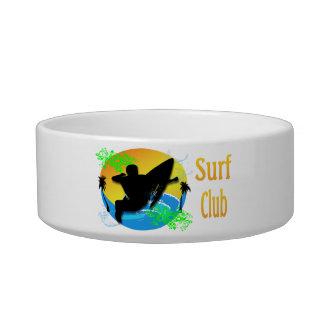 波クラブ-サーファー猫のペットボウル ボウル