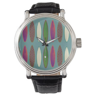 波パターン時間 腕時計