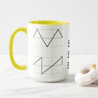 波形のマグ マグカップ
