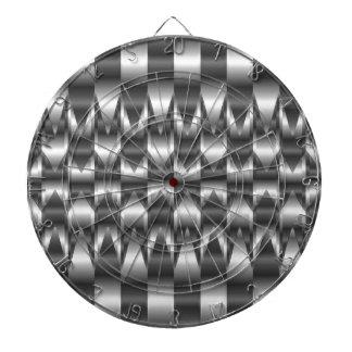 波形の金属の質 ダーツボード