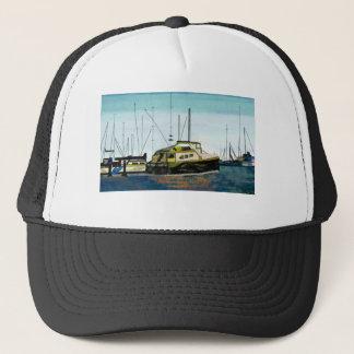 波止場のボート キャップ