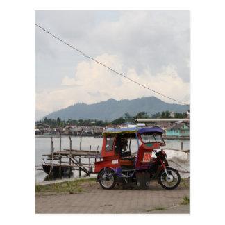 波止場の三輪車 ポストカード