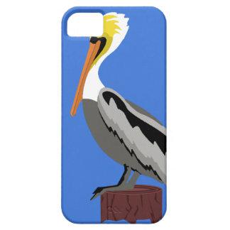 波止場の抗打ち工事のペリカン iPhone SE/5/5s ケース