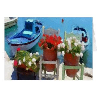 波止場の花 カード