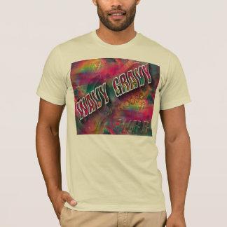 波状のグレービーDJのアメリカヘラジカ Tシャツ