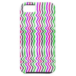 波状のストライプ2014年 iPhone SE/5/5s ケース