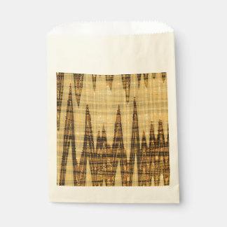 波状の金抽象芸術 フェイバーバッグ