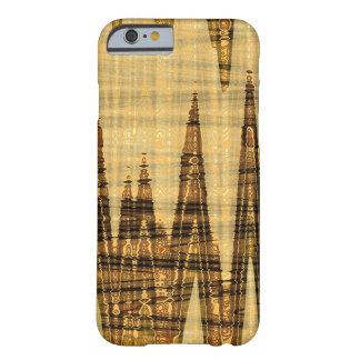 波状の金抽象芸術 BARELY THERE iPhone 6 ケース