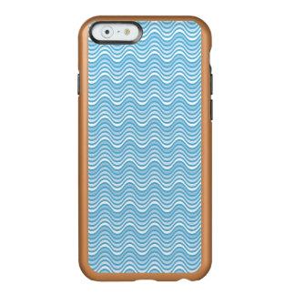 波状の青 INCIPIO FEATHER SHINE iPhone 6ケース