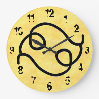 波状 ラージ壁時計
