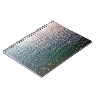 波立つ水ノート ノートブック