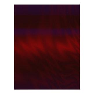 波立てられたえんじ色の抽象芸術 レターヘッド