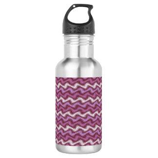 波立てられた紫色 ウォーターボトル