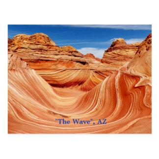 """""""波""""、アリゾナの郵便はがき ポストカード"""