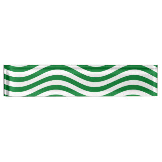 波- SPEARMINTの緑の~の~ --をつかまえて下さい デスクネームプレート