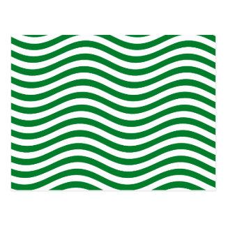 波- SPEARMINTの緑の~の~ --をつかまえて下さい ポストカード