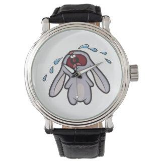 泣き叫びのバニーウサギ|のどなるバニー 腕時計