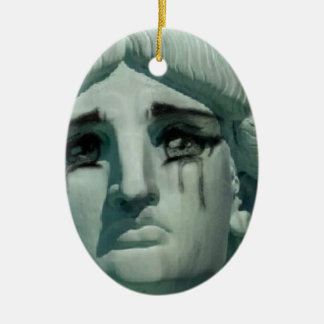 泣き叫びの自由の女神 セラミックオーナメント