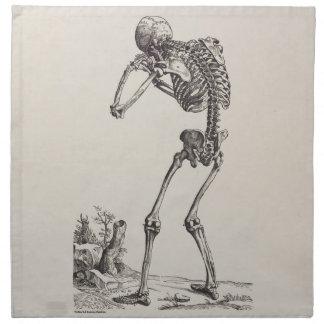 泣き叫びの骨組 ナプキンクロス