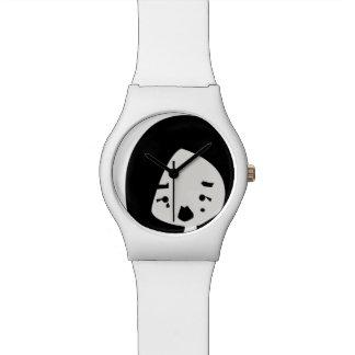 泣き虫88の- BatOwl著-白い腕時計 腕時計