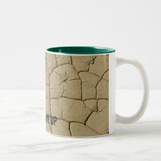 泥のひび、Uのひび私 ツートーンマグカップ