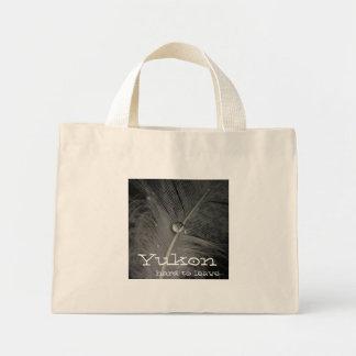 泥の羽; ユーコン準州領域の記念品 ミニトートバッグ