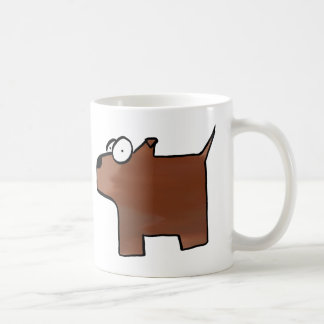 泥の雑種犬 コーヒーマグカップ