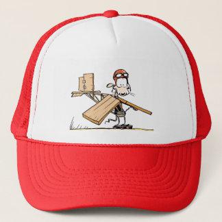 泥地のラットの飛んでいるな漫画の帽子 キャップ