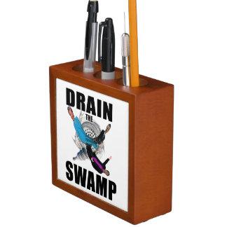 泥地の大統領を流出させて下さいTrump Desk Organizer ペンスタンド