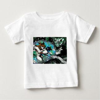 泥地の野蛮人 ベビーTシャツ