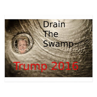 泥地切札クリントン政治デザインを流出させて下さい ポストカード