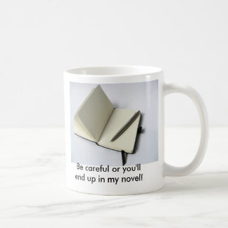 注意すれば私の小説に行きつきます! コーヒーマグカップ