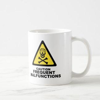注意の頭脳 コーヒーマグカップ