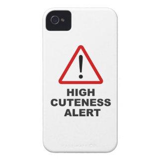 注意の高いcuteness警報 Case-Mate iPhone 4 ケース